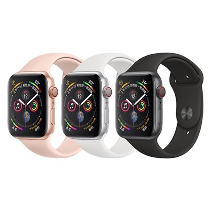 圖片 Apple Watch Series 4 44mm (GPS+行動網路)鋁金屬錶殼搭配運動型錶帶