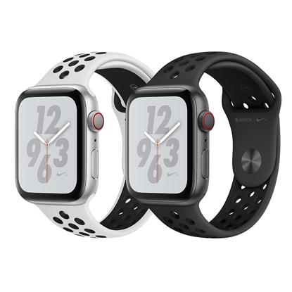 圖片 Apple Watch Nike+ Series 4 44mm (GPS+行動網路)鋁金屬錶殼搭配Nike運動型錶帶