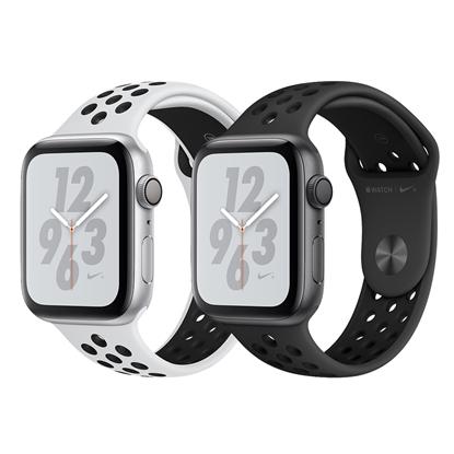 圖片 Apple Watch Nike+ Series 4 44mm (GPS版)鋁金屬錶殼搭配Nike運動型錶帶