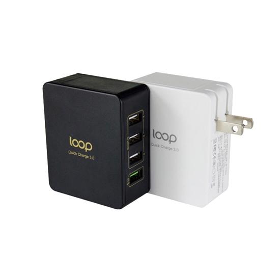 圖片 LOOP QC3.0 超高速4Port USB充電器BP-4U01Q