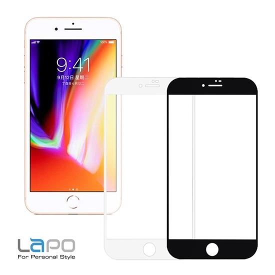 圖片 (二入裝) LAPO抗藍光滿版9H鋼化玻璃保貼 for iPhone 7+ & 8+ (5.5吋)