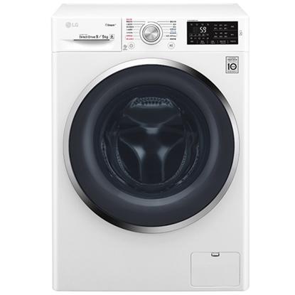 回函贈【LG樂金】6 Motion DD直驅變頻 蒸氣滾筒洗衣機 典雅白 / 9公斤WD-S90TCW