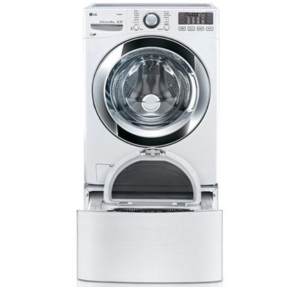 回函贈【LG樂金】18+2.5公斤雙能 洗蒸洗脫洗衣機 WD-S18VBW+WT-D250HW