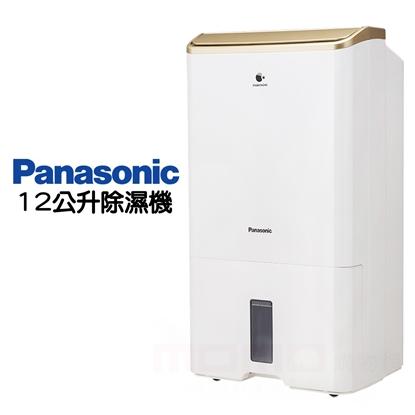 【Panasonic 國際牌】12公升 清淨除濕機 F-Y24EX(金)