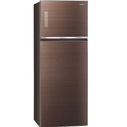 【Panasonic國際牌】485公升雙門變頻無邊框玻璃冰箱 NR-B489TG-T(翡翠棕)