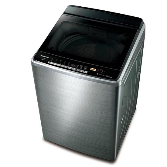 圖片 Panasonic國際牌15KG變頻溫水nanoeX防鏽洗衣機NA-V150GBS-S