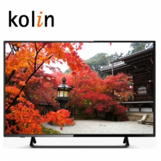 圖片 KOLIN歌林【KLT-43EE01】43型HD液晶顯示器+視訊盒