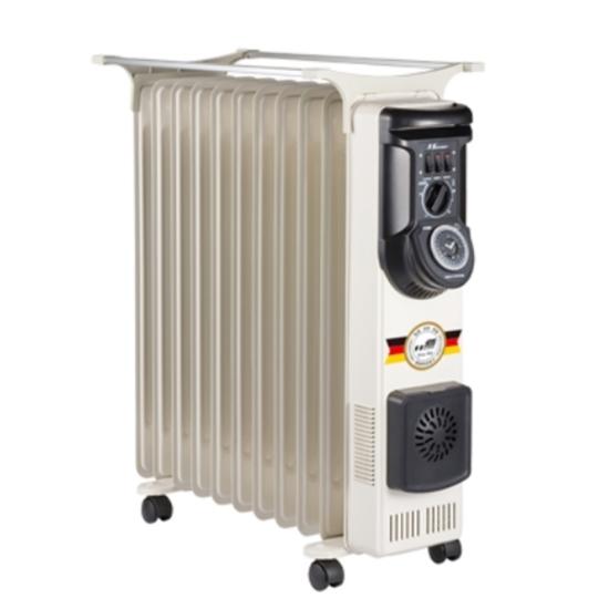 圖片 北方葉片式恆溫11葉片電暖器NA-11ZL