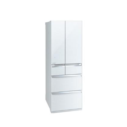 三菱6門525公升冰箱水晶白MR-WX53C-W-C