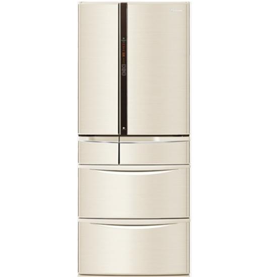 圖片 Panasonic國際牌601公升六門變頻冰箱香檳金NR-F604VT-N1