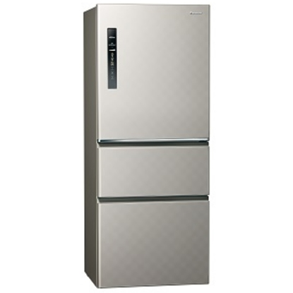 (無贈品)Panasonic國際牌 500公升變頻三門冰箱 NR-C509HV-S(銀河灰)