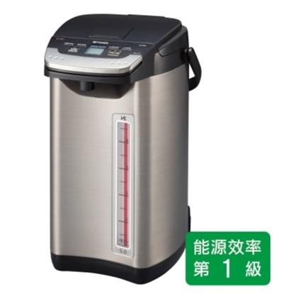 圖片 TIGER 虎牌 日本製_5.0L無蒸氣VE節能省電真空熱水瓶PIE-A50R-KX