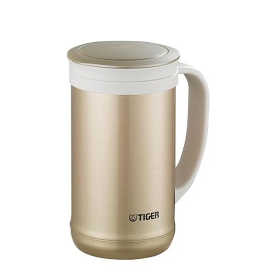 圖片 虎牌500cc茶濾網辦公室杯(與MCM-T050同款)保溫杯NN香檳金MCM-T050-NN