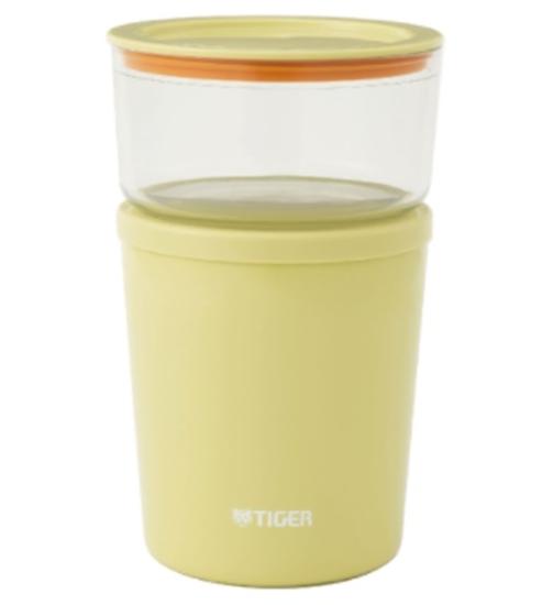 圖片 虎牌食物罐附菜盒(與LCC-A030同款)燜燒罐Y溫馨黃LCC-A030-Y