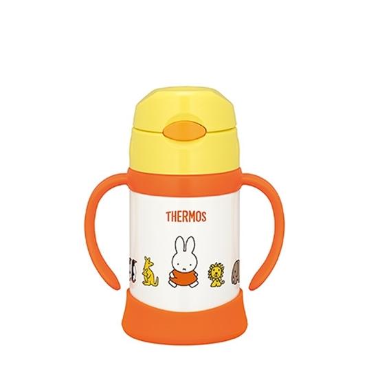 圖片 膳魔師250cc兒童學習杯/吸管(與FHI-250同款)保溫瓶Y米飛兔FHI-250B-Y
