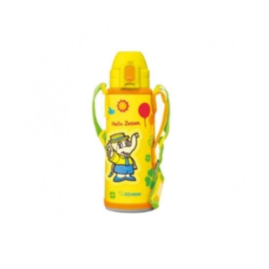 圖片 象印520cc兒童/吸管附肩背帶(與SD-CAE50同款)保溫瓶YA黃色SD-CAE50-YA