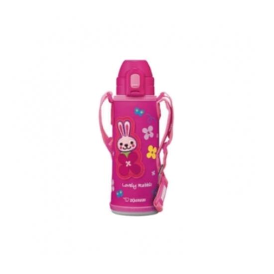 圖片 象印520cc兒童/吸管附肩背帶(與SD-CAE50同款)保溫瓶PA粉紅色SD-CAE50-PA