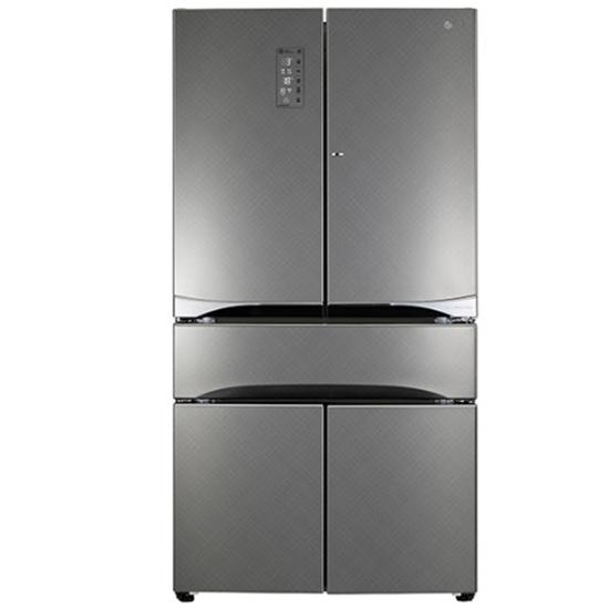 圖片 【結帳享優惠】LG樂金836LWiFi 門中門魔術空間六門冰箱(精緻銀) GR-DBF85S