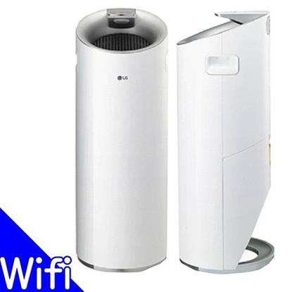 LG樂金圓柱型空氣清淨機-大白二代Wi-Fi遠控版 AS401WWJ1