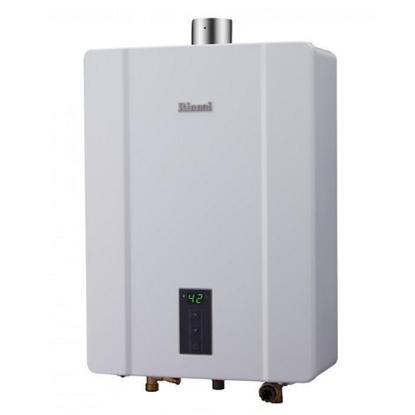 (全省安裝)林內13公升數位恆溫強制排氣屋內(與RUA-C1300WF同款)熱水器天然氣(彰化以北)RUA-C1300WF_NG1