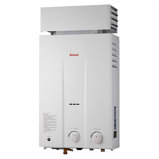 圖片 (全省安裝)林內10公升屋外抗風型抗風型(與RU-1022RF同款)熱水器RU-1022RF_LPG