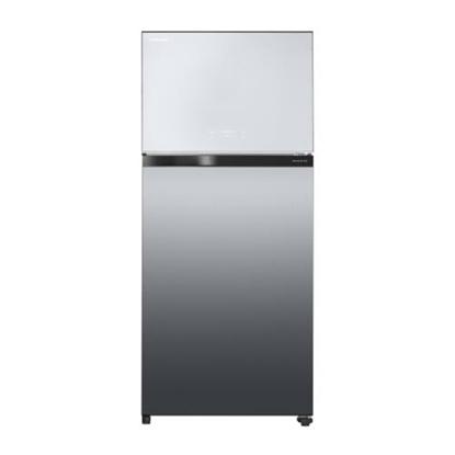 TOSHIBA東芝608公升雙門變頻無邊框玻璃冰箱晶鑽黑 GR-AG66T(X)