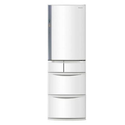 Panasonic國際牌411公升五門變頻冰箱晶鑽白NR-E414VT-W1