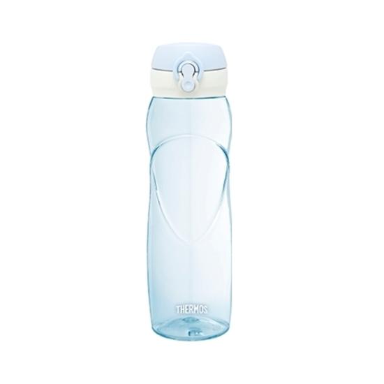 圖片 膳魔師700cc透明彈蓋輕水瓶(與TB-700同款)粉藍色TB-700-BL