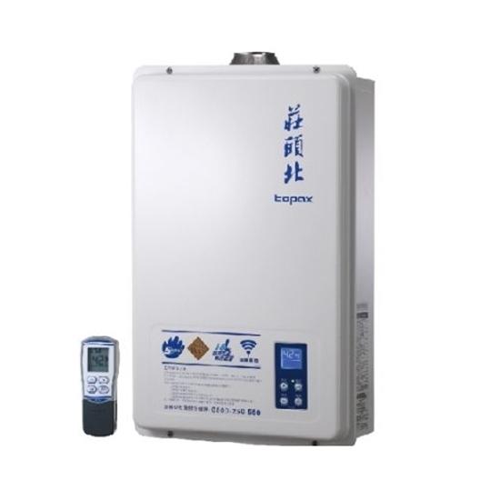 圖片 (全省安裝)莊頭北16公升數位式恆溫分段火排DC強制排氣(與TH-8165FE同款)熱水器天然氣TH-8165FE_NG1