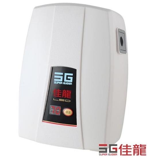 圖片 (全省安裝)佳龍即熱式瞬熱式電熱水器LED顯溫度精準控溫熱水器LED-99-LB內附漏電斷路器系列