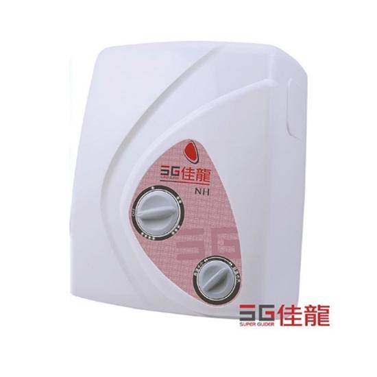 圖片 (全省安裝)佳龍即熱式瞬熱式電熱水器雙旋鈕設計與溫度熱水器NH99