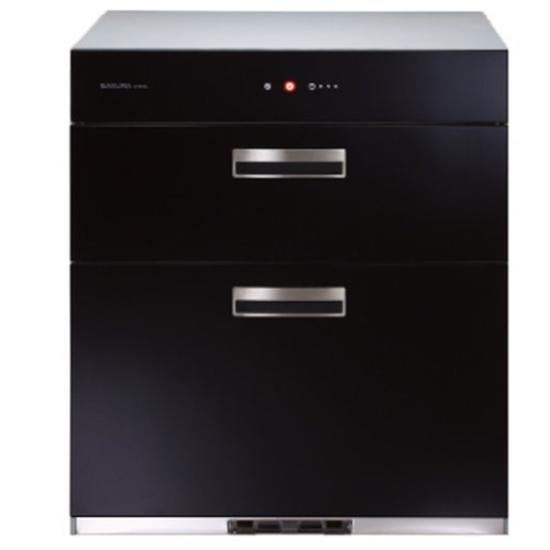 圖片 (全省安裝)櫻花落地式全平面玻璃觸控68cm(與Q7693同款)烘碗機B黑Q-7693