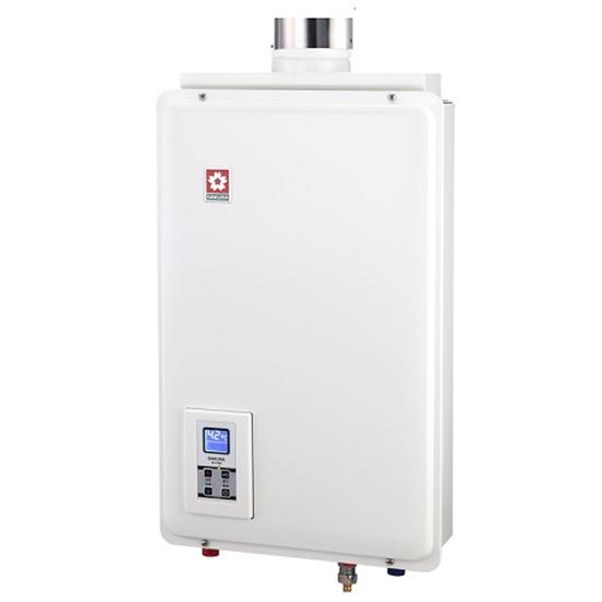圖片 (全省安裝)櫻花16公升強制排氣(與H1680/H-1680同款)熱水器天然氣H-1680N