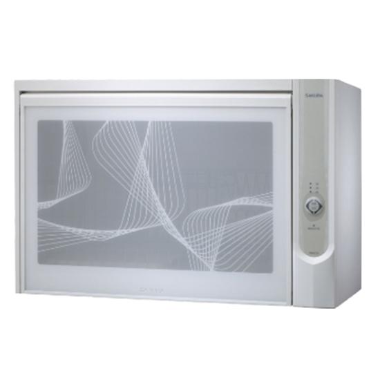 圖片 (含標準安裝)櫻花懸掛式臭氧殺菌烘碗機60cm(與Q600CW同款)烘碗機白色Q-600CW