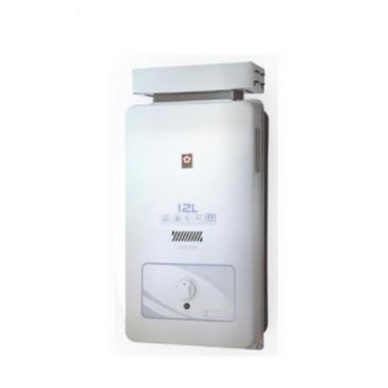 圖片 (全省安裝)櫻花12公升抗風(與GH1206/GH-1206同款)熱水器天然氣GH-1206N