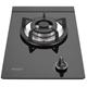 (全省安裝)林內單口玻璃防漏檯面爐黑色鋼鐵爐架瓦斯爐 RB-100GH-B