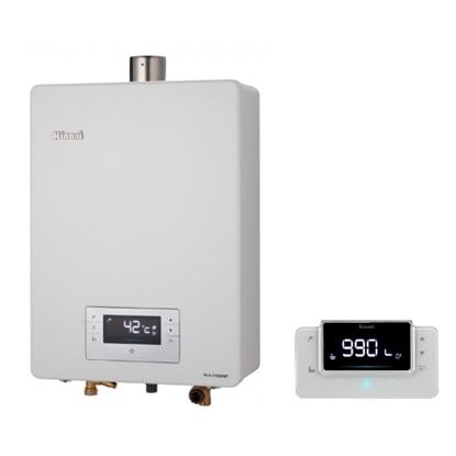 本月加碼送300元禮券★(全省安裝)林內16公升數位恆溫強制排氣贈BC-30無線遙控熱水器RUA-C1630WF