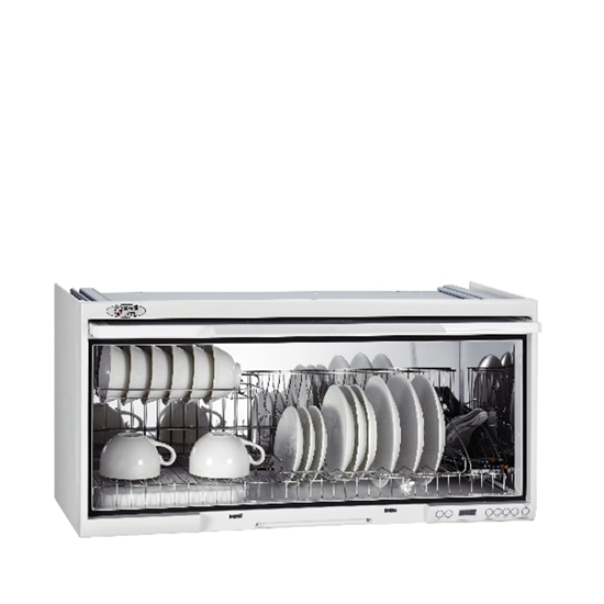 圖片 (全省安裝)喜特麗80公分臭氧電子鐘懸掛式烘碗機白色黑色JT-3680Q
