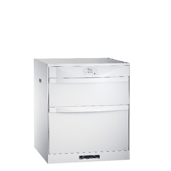 圖片 (全省安裝)喜特麗50公分臭氧型鋼琴烤漆嵌入式烘碗機冰晶白JT-3152QGW