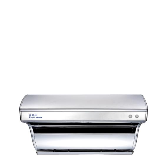 圖片 (全省安裝)莊頭北80公分直吸式斜背式(與TR-5301同款)排油煙機不鏽鋼TR-5301-80CM
