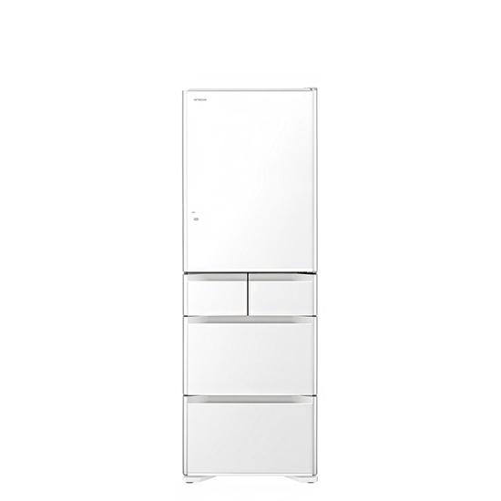 日立 501公升五門冰箱XW琉璃白RG500GJXW