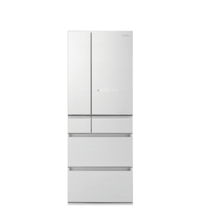 Panasonic國際牌600公升六門變頻冰箱翡翠白NR-F605HX-W1