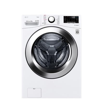 【結帳享優惠】★LG樂金19公斤滾筒蒸洗脫洗衣機WD-S19VBW