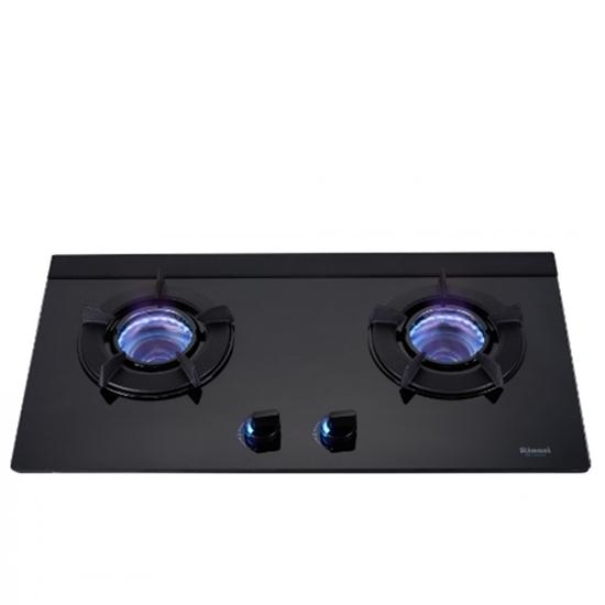 圖片 (全省安裝)林內雙口內焰玻璃檯面爐內焰爐鑄鐵爐架黑色LED(與RB-N212G(B)同款)瓦斯爐RB-N212G(B)_LPG