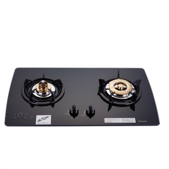 圖片 (全省安裝)林內美食家雙面檯面爐黑色與白色(與RB-2GMB同款)瓦斯爐RB-2GMB_LPG