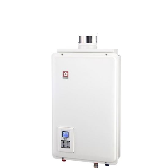 圖片 【結帳享優惠】(全省安裝)櫻花16公升強制排氣(與SH1680/SH-1680同款)熱水器桶裝瓦斯SH-1680L