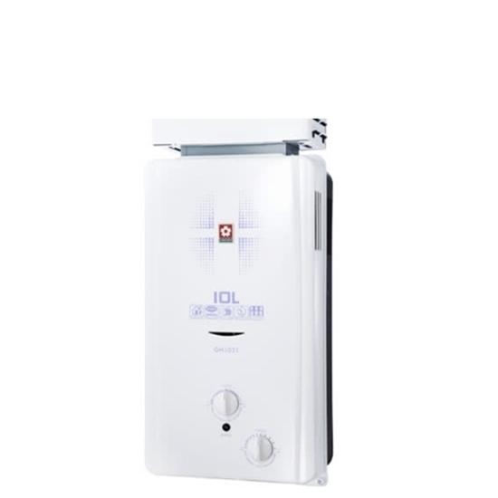 櫻花 防風 熱水器