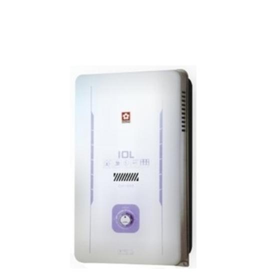 圖片 【結帳享優惠】(全省安裝)櫻花10公升(與GH1005/GH-1005同款)熱水器桶裝瓦斯GH-1005L