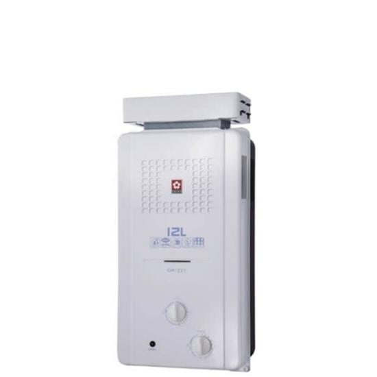 防風 熱水器