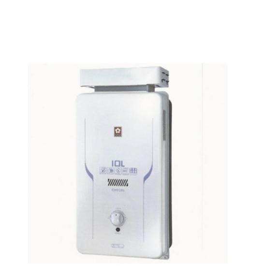 圖片 (全省安裝)櫻花10公升抗風(與GH1006/GH-1006同款)熱水器桶裝瓦斯GH-1006L